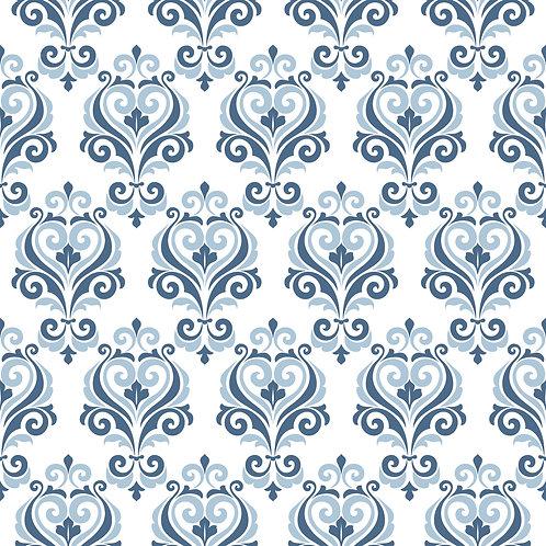 Керамическая плитка Colibri Blu Dec.B2 12,5 × 12,5 см
