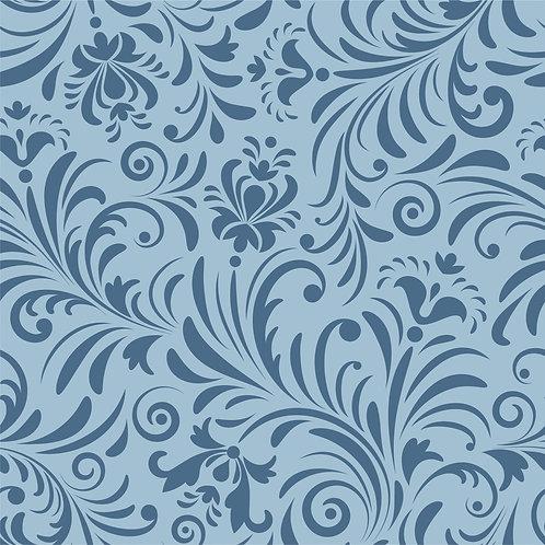 Керамическая плитка Colibri Blu Dec.E5 12,5 × 12,5 см