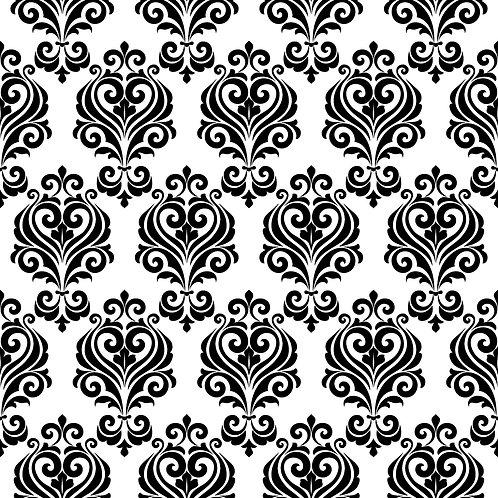 Керамическая плитка Colibri Nero Dec.B2 12,5 × 12,5 см