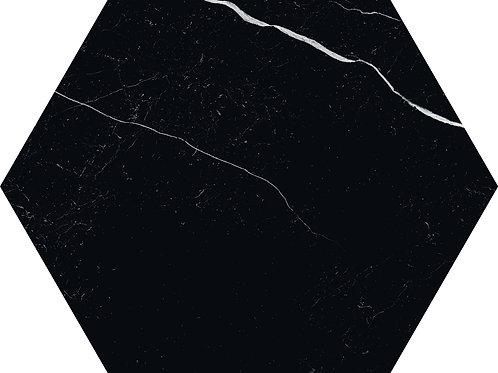 Керамогранит Esagona Nero 19,5 × 22,5 см