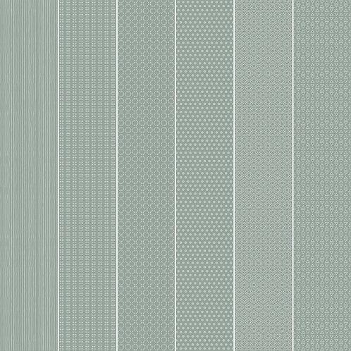 Керамогранит Vibration Sage (6 patterns) 10 х 60 см