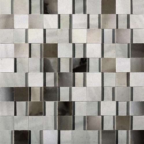 Керамогранит Alabastri Mosaico 3d Fumee Glossy 30*30 см