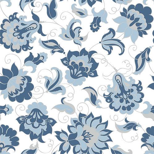 Керамическая плитка Colibri Blu Dec.C5 12,5 × 12,5 см