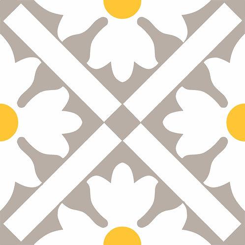 Керамическая плитка Colibri Gia/Gr. Dec.B6 12,5 × 12,5 см