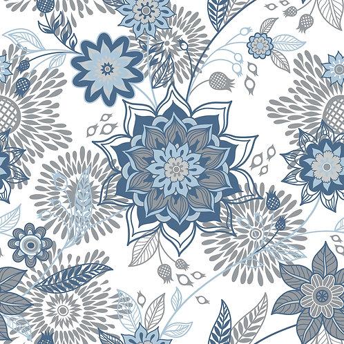 Керамическая плитка Colibri Blu Dec.A3 12,5 × 12,5 см