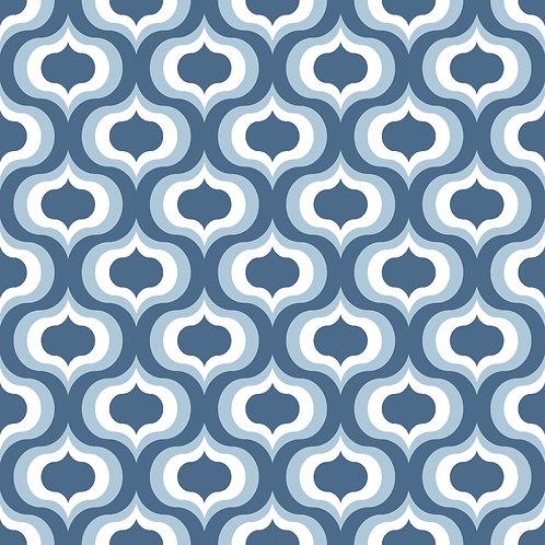 Керамическая плитка Colibri Blu Dec.D3 12,5 × 12,5 см