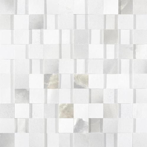 Керамогранит Alabastri Madreperla Mos. 3D Glossy 30*30 см