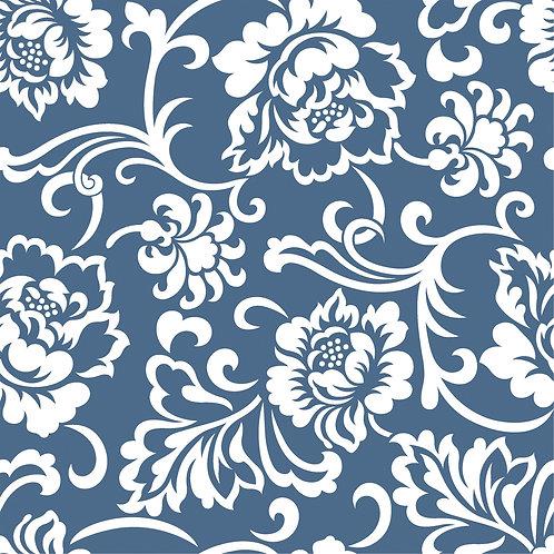 Керамическая плитка Colibri Blu Dec.D6 12,5 × 12,5 см