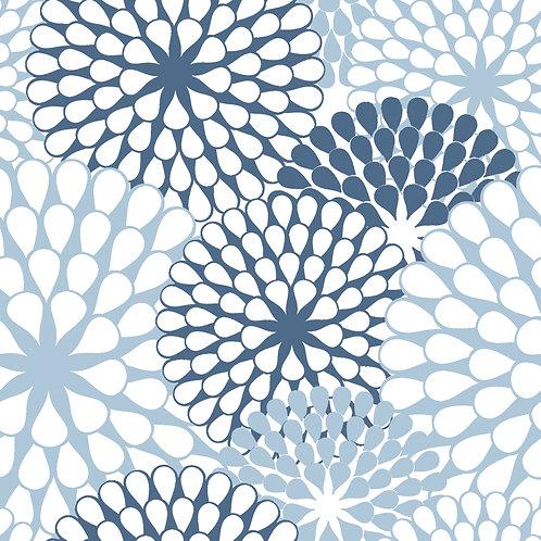 Керамическая плитка Colibri Blu Dec.C4 12,5 × 12,5 см