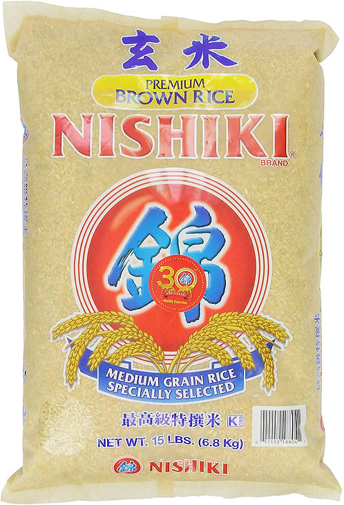 Arroz integral Nishiki 6.8 kg