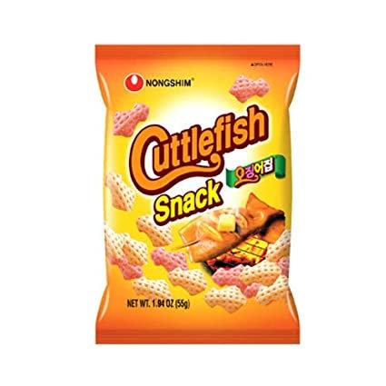 Nongshim Cuttlefish Snack 55g