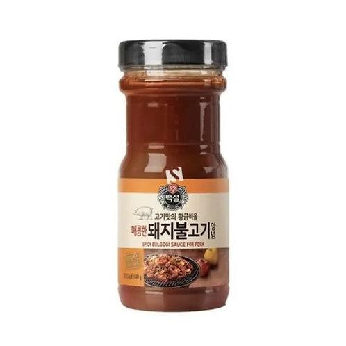 CJ Korean BBQ Bulgogi spicy pork Marinador 840g
