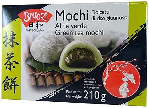 Mochi  Dulce 210g , te verde ROYAL