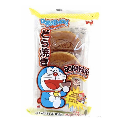 Doraemon dorayaki 3pzas 138g hapi