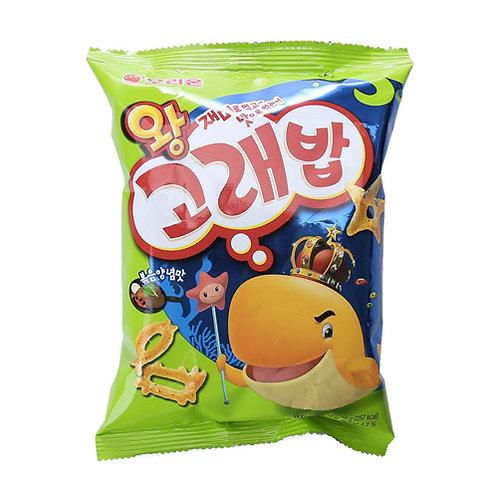 Korea bob crackers snack 40g (Figuras marinas)
