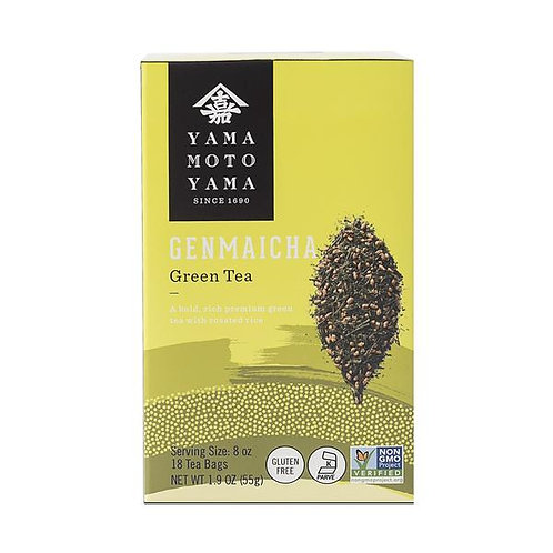 YMY GENMAI CHA LOOSE GRN TEA (09900) 12/5.3 OZ
