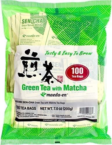 te verde Maeda sencha con matcha 100 bolsitas 200g