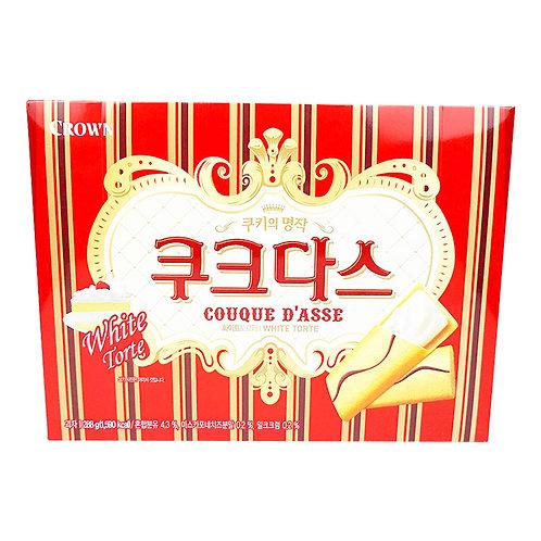 Crown Couque Dasse White Torte 288g