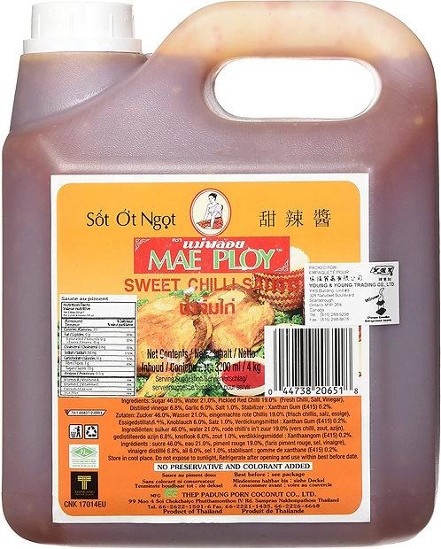 Salsa Chile dulce (seet chili) Mae Ploy galon 3.78