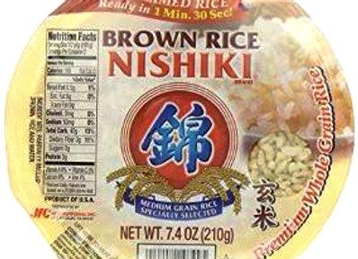 Arroz integral Nishiki cocido 210g microondas