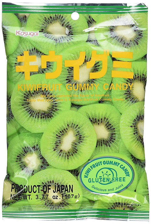 Kasugai gummy kiwi 107g