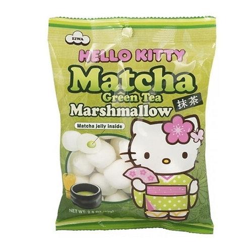 Malvavisco Hello Kitty te verde Jelly 80g