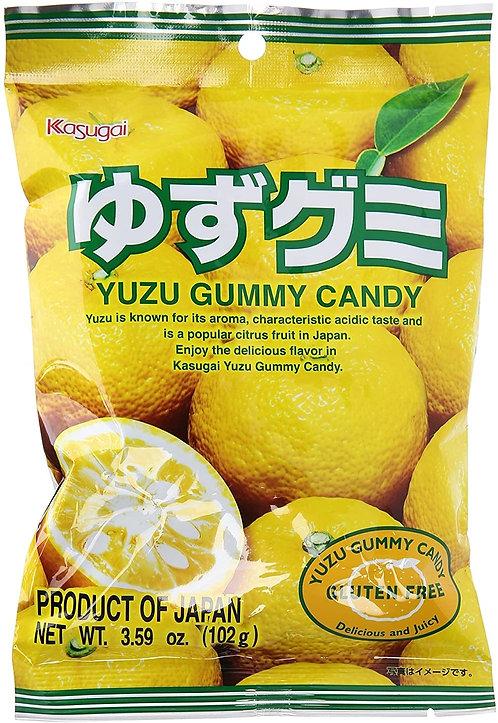 Kasugai gummy yuzu 102g