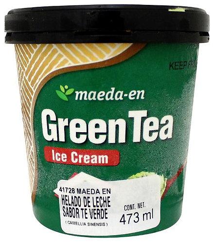 Helado de Te verde Maeda 1 Lt