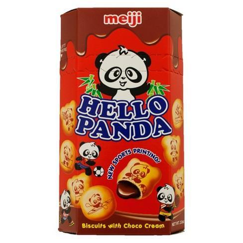 MEIJI HELLO PANDA CHOCOLATE 60GR