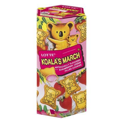LOTE KOALA NO MARCH 50g FRESA