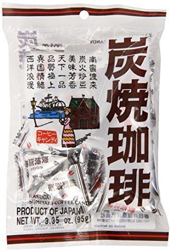 KASUGAI SUMIYAKI COFFEE CANDY 2/12/3.35OZ