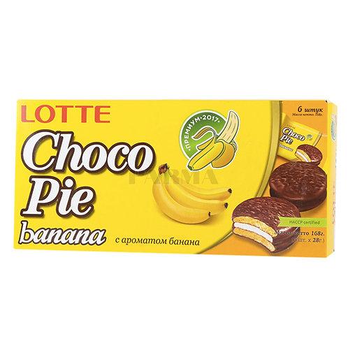 Choco pie lotte BANANA 168g