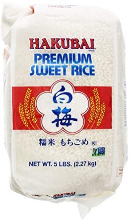 Hakubai Mochigome-Dulce 2.2 KG