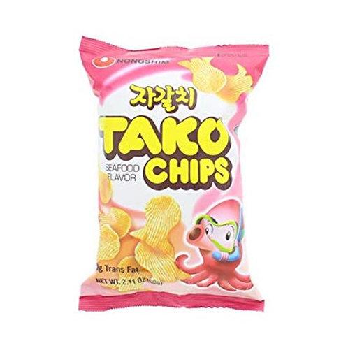 Tako chip snack 60g NS