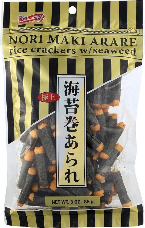 Nori maki arare botana de arroz con alga JB 85g 3 oz