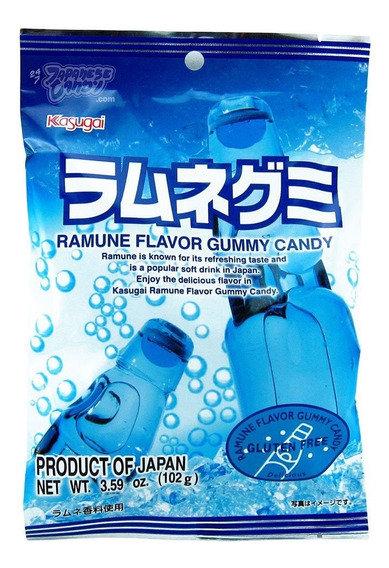 Kasugai ramune gummy 102g