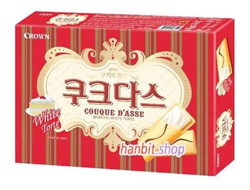 Crown Couque Dasse White Torte 72g