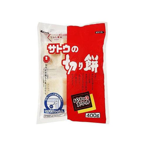 Mochi daishin pastel arroz glutin calentar 400g