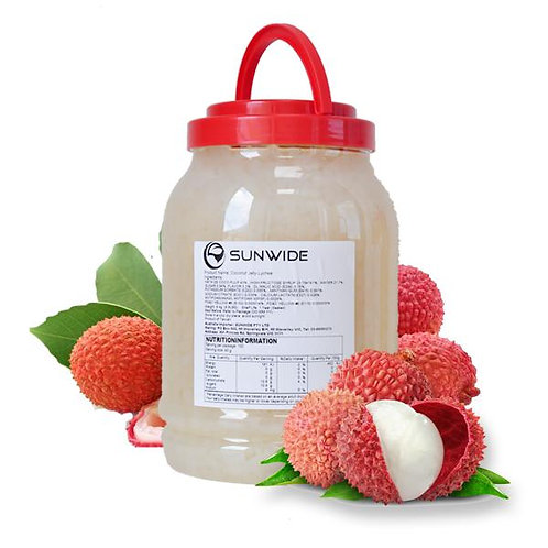 LYCHEE Y COCO JELLY 4 KG