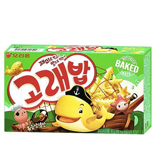 Korea bob crackers snack 40Gx4 (Figuras marinas)