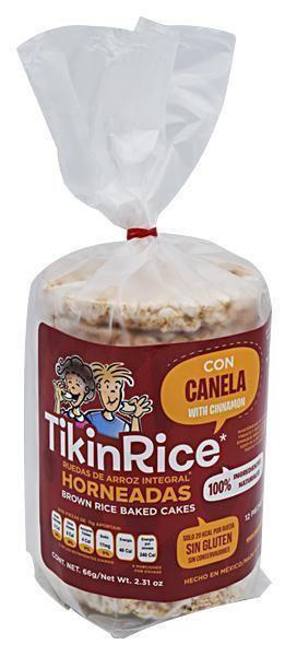 TIKINRICE CANELA 66g