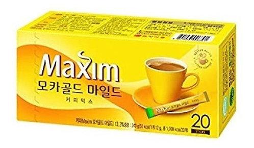 Café de Moka instantaneo Maxim 12g