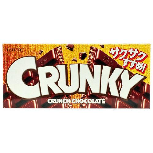LOTTE CRUNKY CHOCOLATE CTN 12/10/45 G