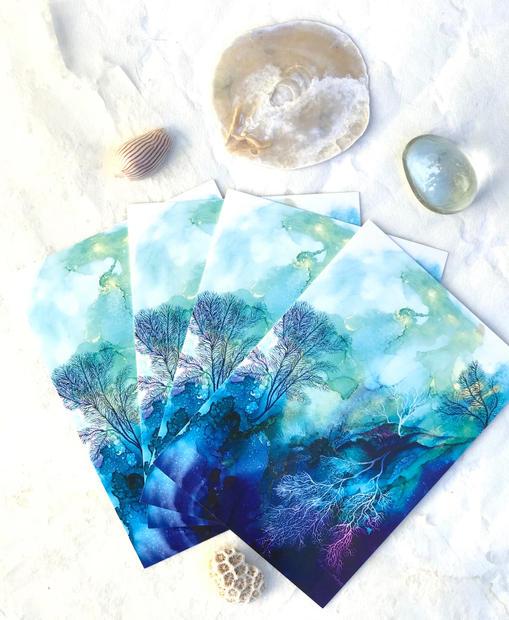 Coral Reef 3 postcard