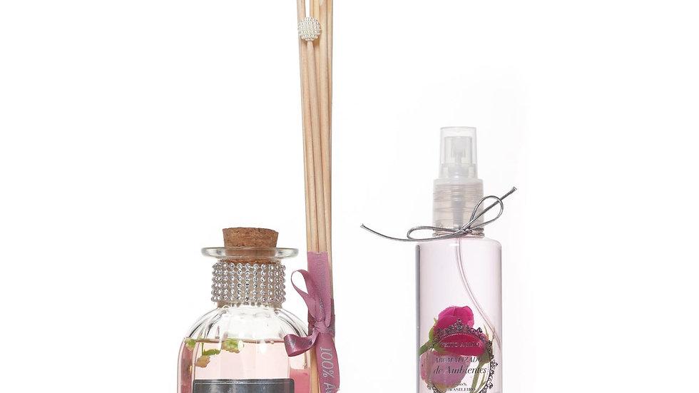 Kit 2 Lavanda - Difusor (250 ml) e Home Spray (200 ml)