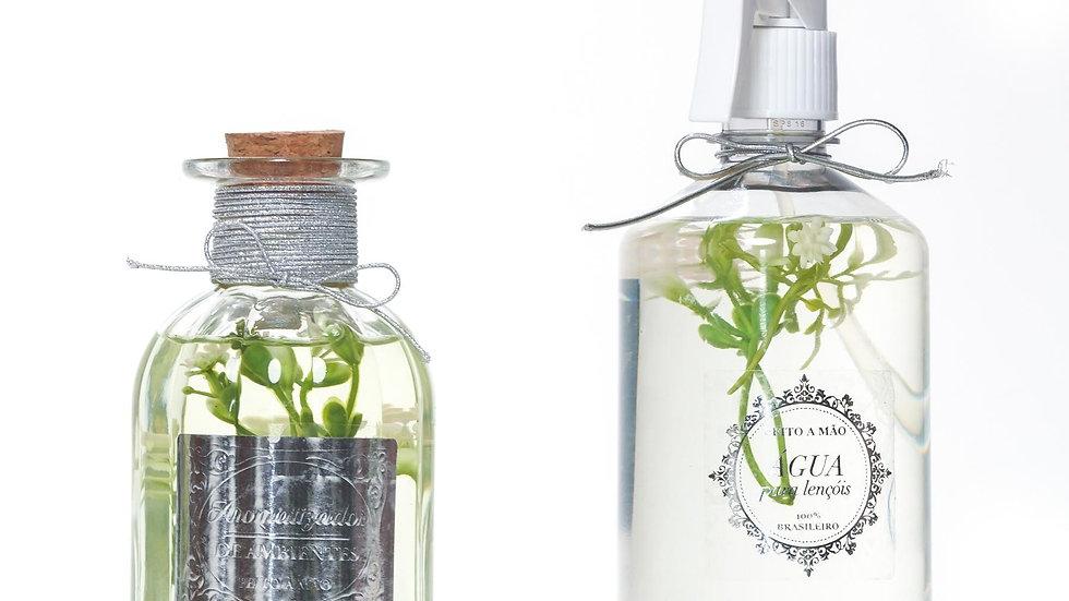 Kit 2 Bamboo: Difusor de Aromas (250 ml) e Água Perfumada (500 ml)