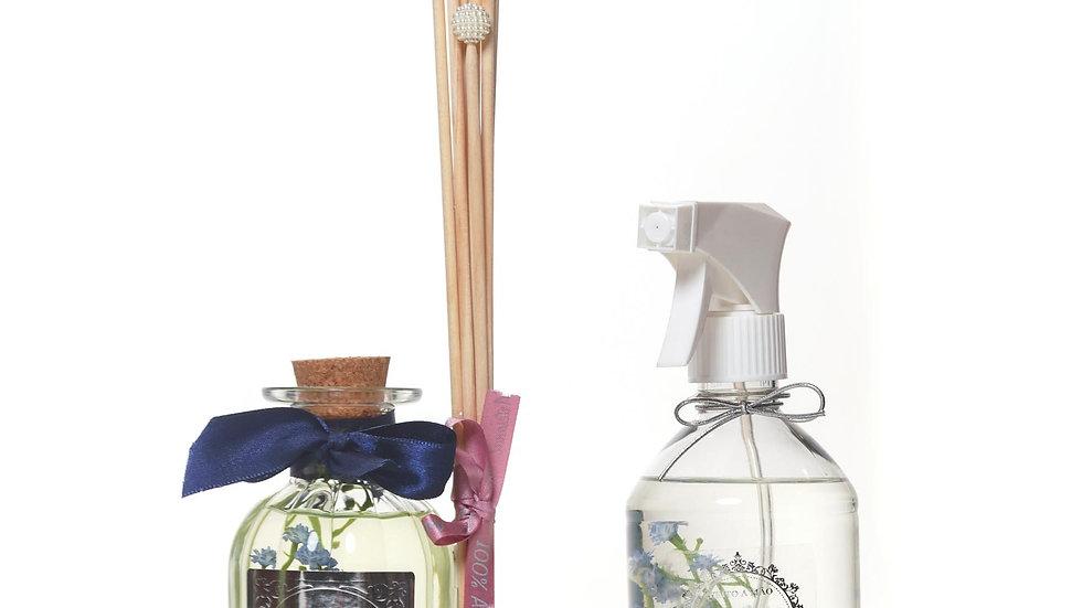Kit 2 Alecrim & Capim Limão - Difusor (250 ml) e Água Perfumada (500 ml)