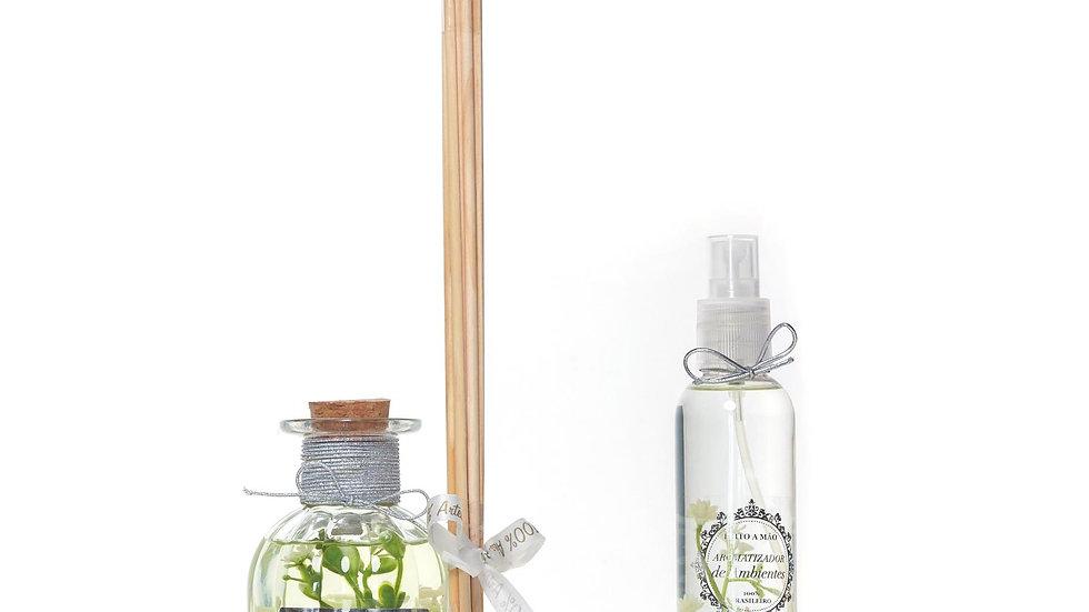 Kit 2 Bamboo - Difusor (250 ml) e Home Spray (200 ml)