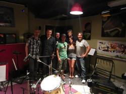 Recording at MCC in Calgary