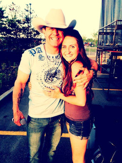 Backstage with Aaron Pritchett